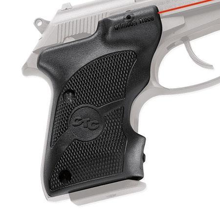 Crimson Trace Polymer Lasergrip Set Front Activation the Beretta Bobcat and Tomcat Pocket Series Sem 244 - 771