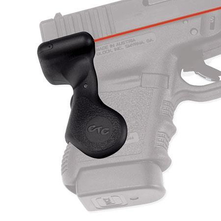 Crimson Trace Polymer Lasergrip Set Rear Overmold Activation the Glock Series Semi Automatic Pistols 38 - 23