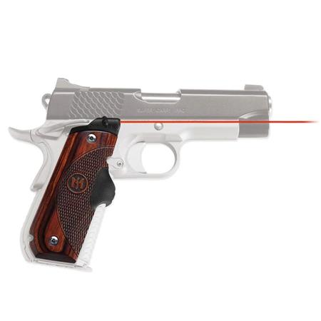 Crimson Trace LG Master Series Rosewood Lasergrips Laser Sight Full Size Round Heel Pistols 147 - 486