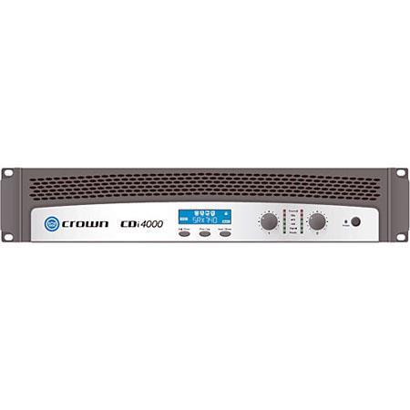 Crown Audio CDi Watt per Channel Channel Power Amplifier On board DSP V Output HiQnet USB Compatible 171 - 221