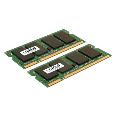 Crucial GBGB DDR SO DIMM Memory Upgrade Kit Notebook PC MHz 0 - 432