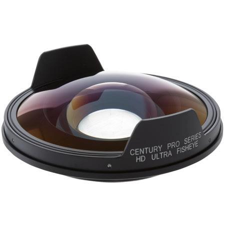 Century OpticsUltra Fisheye Auxiliary Lens Sony HDR FX HVR VU HDV Camcorders Bayonet Mount 119 - 169