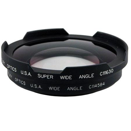 Century OpticsWide Angle Adapter Set the JVC GY HDU and Panasonic AG HPX Camera Fujinon THlens Clamp 50 - 313