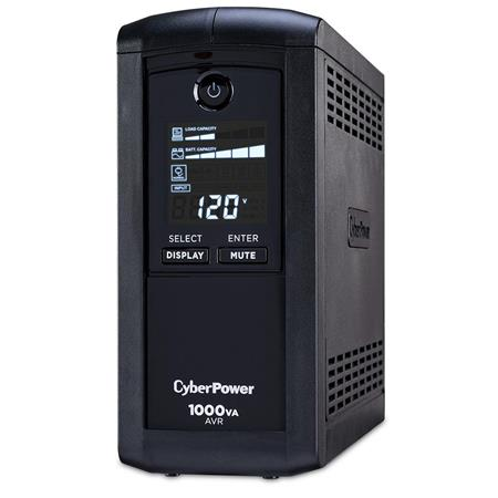 CyberPowerPC CPAVRLCD Intelligent LCD Series Computer Battery Backup VA W UPS Outlets USB Serial Por 132 - 64