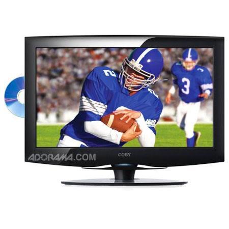 Coby ATSC Digital LCD TV Monitor Built DVD PlayerResolution 90 - 755