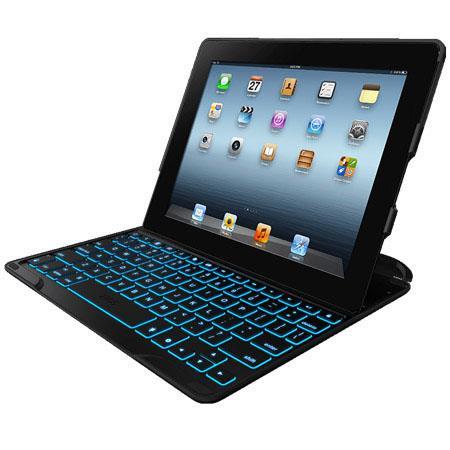 Zagg ZAGGkeys Profolio Backlit Keyboard and Case Apple iPad th Gen  224 - 30