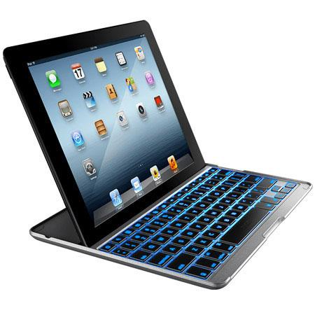 Zagg ZAGGkeys PROplus Backlit Keyboard and Case Apple iPad rd Gen 88 - 609