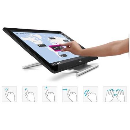 Dell PT Full HD p Touchscreen LED Backlit PLS LCD Monitor Contrast Ratio cdm Brightness VGAHDMIUSB  74 - 250