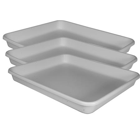 Cesco Plastic Print Developing Tray Flat BottomDeep Three Trays 374 - 361