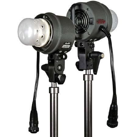 Dynalite Blower Cooled Studio Flash Head WS Bare Bulb SH 146 - 40