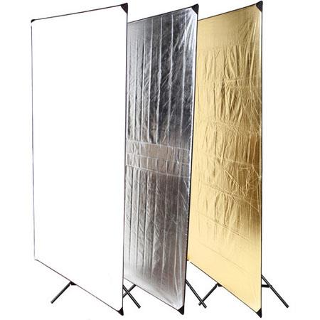 Dynalite Light Panel Kit includes Fabric Ball Head Frame and Stand 296 - 43