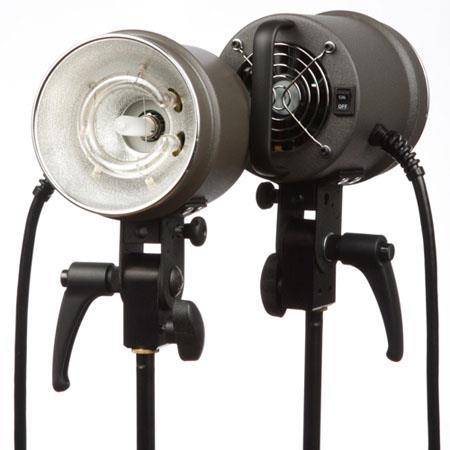 Dynalite MH Fan Cooled Flash Head ws Maximum Watt Model Lamp 45 - 259