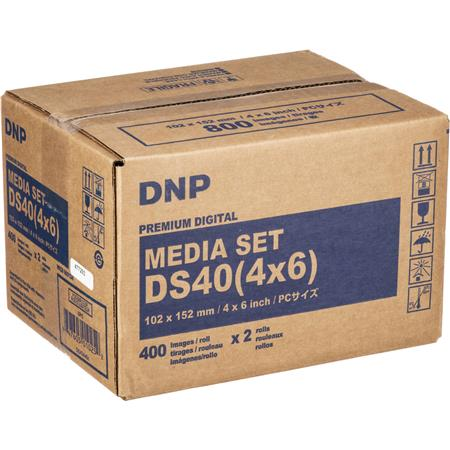 DNP DSDyesub Printer Paper Glossy Prints 253 - 509