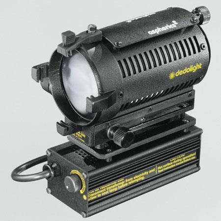 Dedolight DLHM Watt Tungsten Zoom Focus Light Head Integrated W Electronic Transformer Volt 223 - 385
