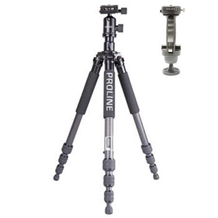 Dolica ZXB Carbon Fiber Tripod Kit Ball Head and Professional Pistol Grip Head 96 - 382