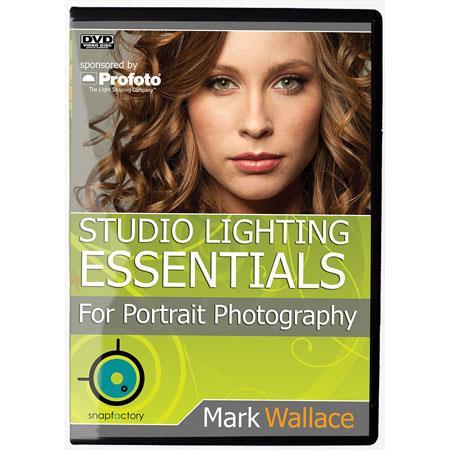 DVD Studio Lighting Essentials Portrait Photography Mark Wallace 95 - 532