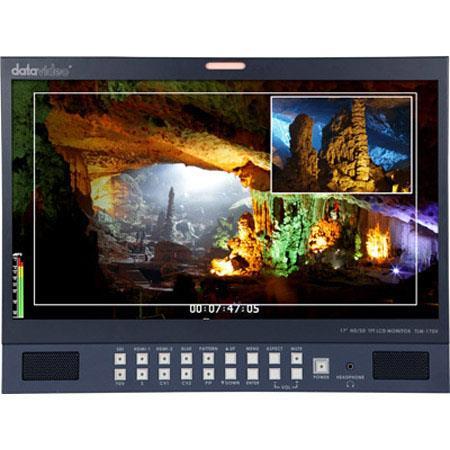 Datavideo TLM H HDSD TFT LCD Monitor Aspect Ratio cdm Brightness Contrast Ratio Built In Stereo Spea 99 - 370