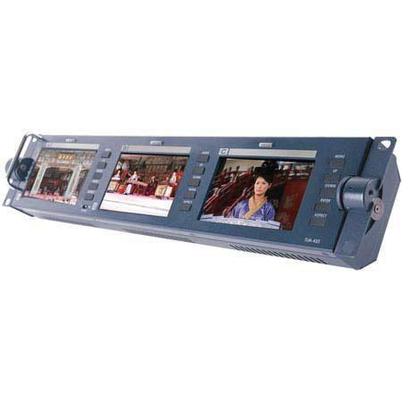 Datavideo TLM Rackmountable Bank of Three LCD MonitorsResolution 39 - 166