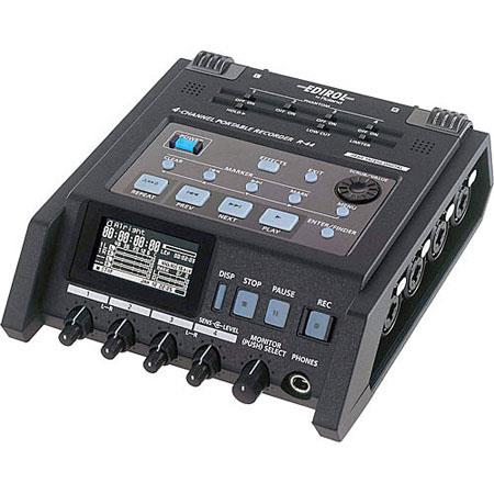 Roland R Solid State Channel Portable Field Recorder 57 - 694