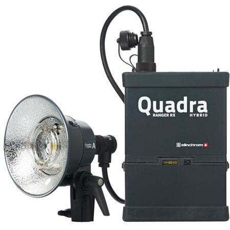 Elinchrom Ranger Quadra Hybrid Lead Gel Standard Set A Heads 34 - 791