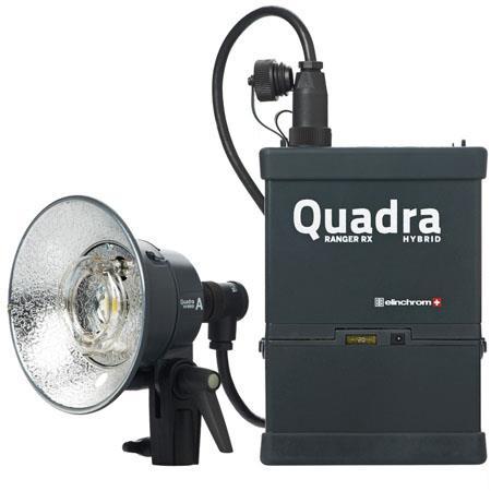 Elinchrom Ranger Quadra Hybrid Lead Gel Standard Set S Heads 82 - 758