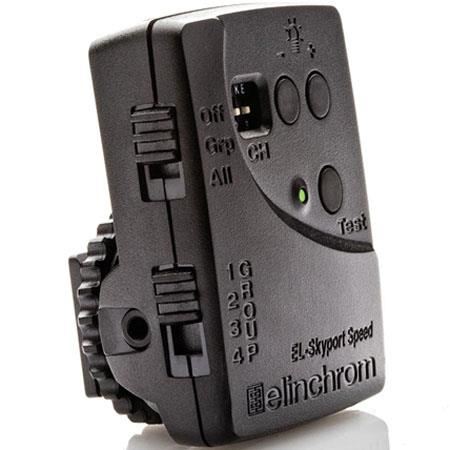 Elinchrom ELS Skyport SPEED Transmitter Camera Sync Speeds Up to s Bit Security Encryption Frequency 133 - 541