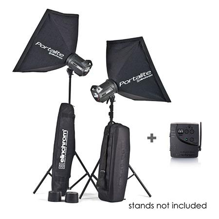 Elinchrom BRXHead Portalite To Go Monolight Kit Stands 17 - 172