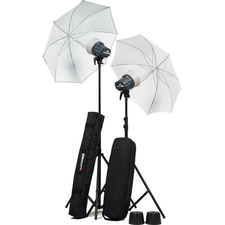 Elinchrom D Lite RX OneHead Umbrella to Go Kit Flash Heads Reflectors Umbrellas Stands Transmitter 58 - 509