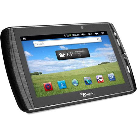 Ematic eGlide Touchscreen GB Tablet Android Camera Trackball GHz Dual Core Processor  71 - 751