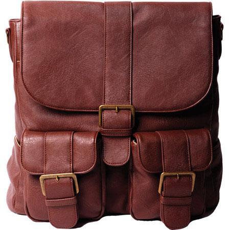Epiphanie Brooklyn BackpackCross Body Camera Lens Bag Caramel 244 - 601