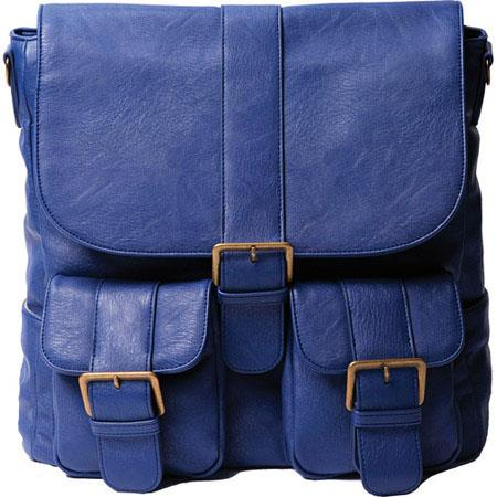 Epiphanie Brooklyn BackpackCross Body Camera Lens Bag Cobalt 114 - 134