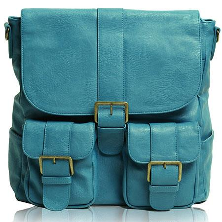 Epiphanie Brooklyn Camera Backpack Turquoise 81 - 226