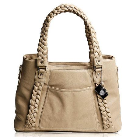 Epiphanie Clover Shoulder Camera Bag Camel 50 - 398