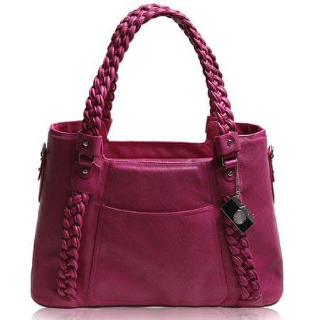 Epiphanie Clover Shoulder Camera Bag Fuchsia 50 - 398
