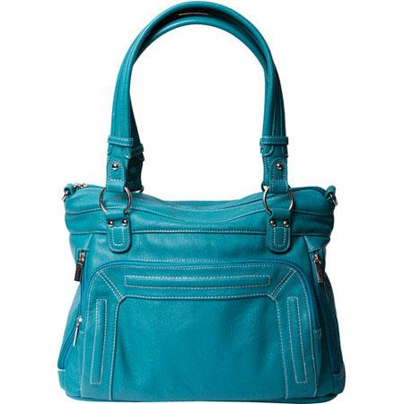 Epiphanie Ginger Shoulder Camera Bag Turquoise 255 - 396