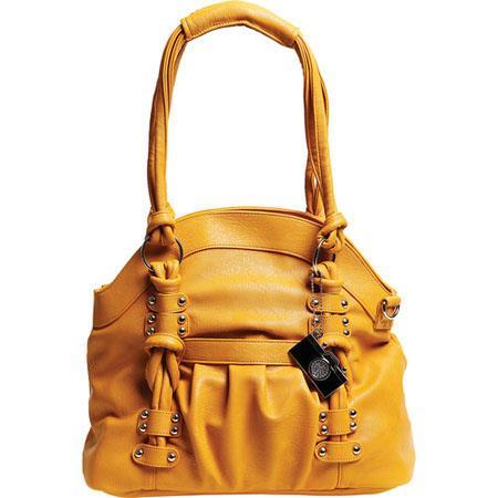Epiphanie Lola Shoulder Camera Bag Mustard 98 - 398