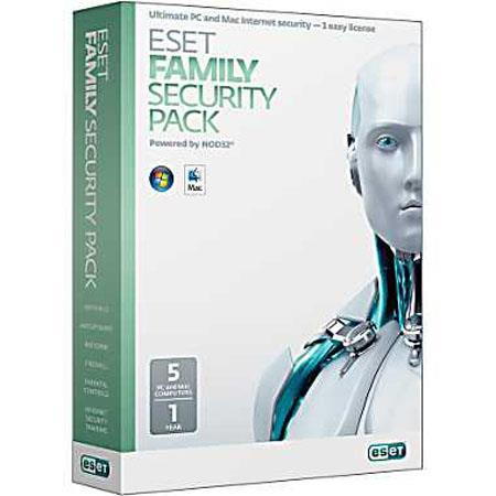 ESET Family Security Pack Five User Boxed 71 - 751