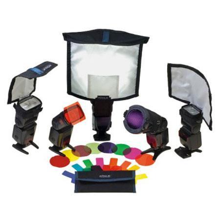 ExpoImaging Rogue Master Lighting Kit Includes Large FlashBender Reflector Small FlashBender Reflect 100 - 513