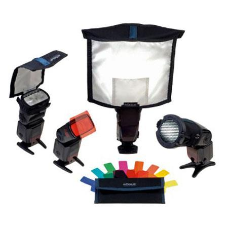 ExpoImaging Rogue Portrait Lighting Kit Includes Large FlashBender Reflector Large Diffusion Panel B 191 - 785