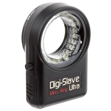 Digi Slave Mini L Ring Ultra Lightweight Continuous Light Ring Close Up Photography Lens Threads up  149 - 272