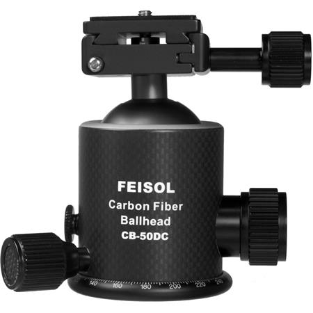 Feisol CB DC Carbon Fiber Ball Head Release Plate QP  36 - 523
