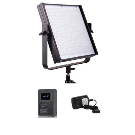 FloLight MicroBeam High Powered LED Video Light Anton Bauer Mount Tungsten K Spot deg Bundle Switron 142 - 99