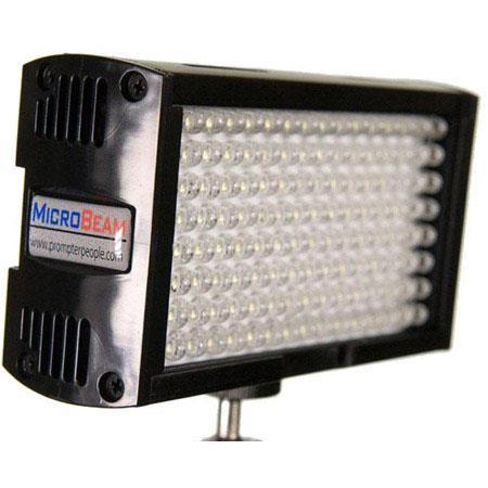 FloLight Microbeam Ultra Bright K LED On Camera Video Light Panasonic CRG D Battery Mount  289 - 327