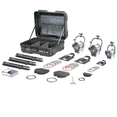 Film Gear Traveler Mini Kit Fresnel W Fresnel W Junior Lamphead ABS Case 144 - 435