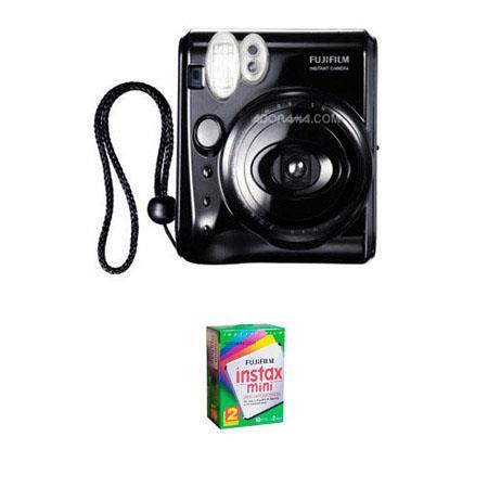 Fujifilm InstaMini S Instant Photo Camera Kit Fujifilm InstaMini Instant Daylight Film Twin Pack Exp 303 - 63