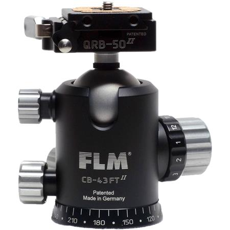 FLM CB FTR Pro Ballhead QPR Camera Plate 175 - 101