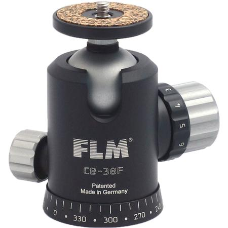 FLM CB F Ballhead Friction Control lbs Load Capacity 43 - 683