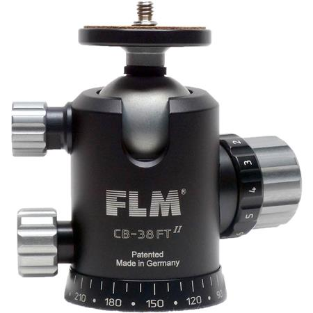 FLM CB FT Ballhead Friction Control and Tilt Function lbs Load Capacity 137 - 38