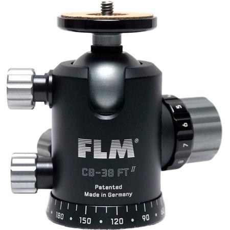 FLM CB FTR Professional Ball Head Friction Tilt lbs Load Capacity 178 - 36