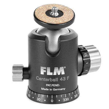 FLM CB F Professional Ballhead Comfortable Friction and Panorama Base Supports lbs 117 - 705